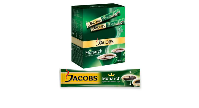 Jacobs monarch в стиках